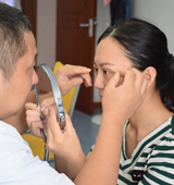 合肥妹子割双眼皮全记录