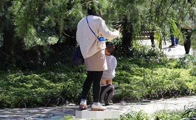 【曝光】植物园游人如织,不文明现象也暴增