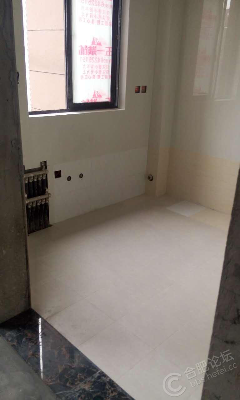 厨房砖完工