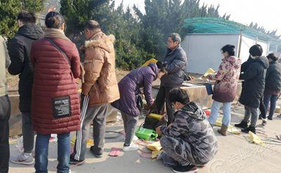 小蜀山陵园禁止焚烧纸,北京赛车规则与奖金有人摆放铁桶收费20元