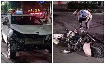 安徽女司机闯祸了!酒驾连撞四车致一人死亡
