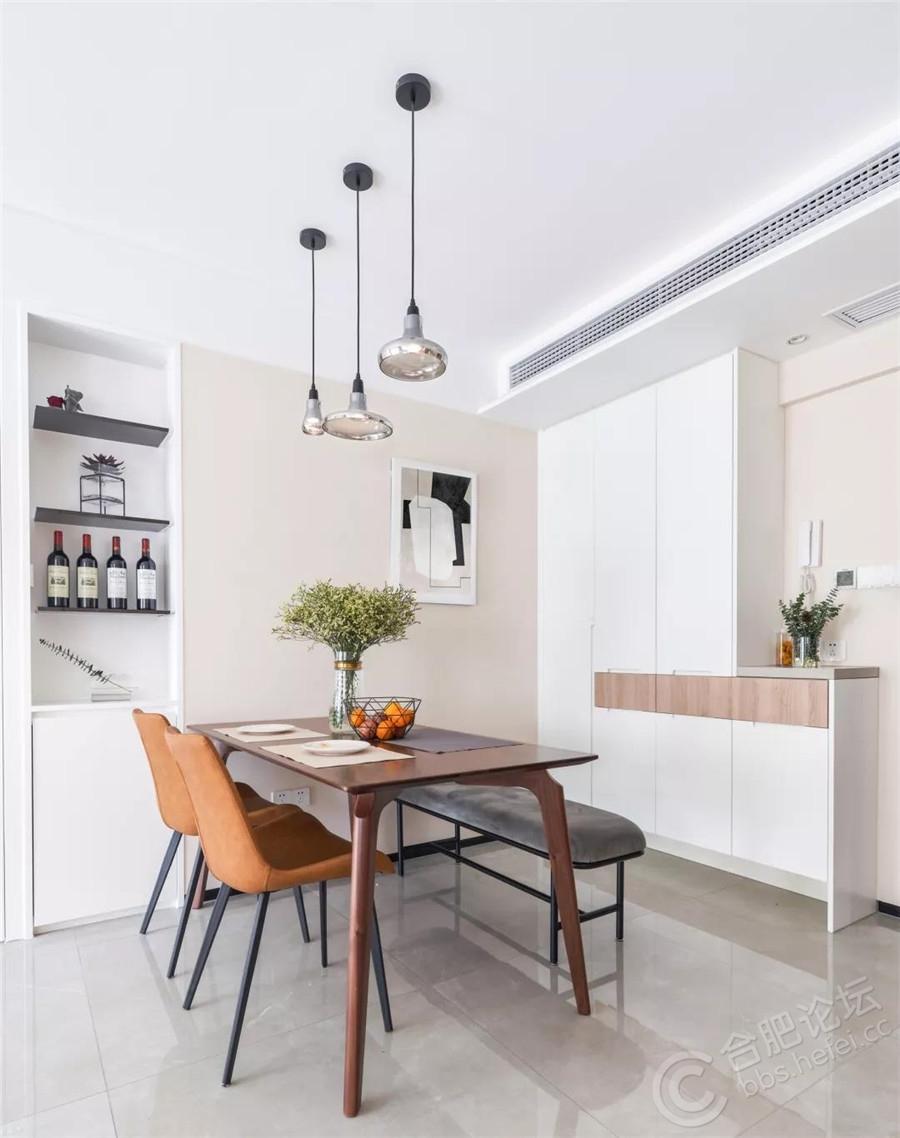 73平的现代北欧风小户型二居室,简单舒适的小窝