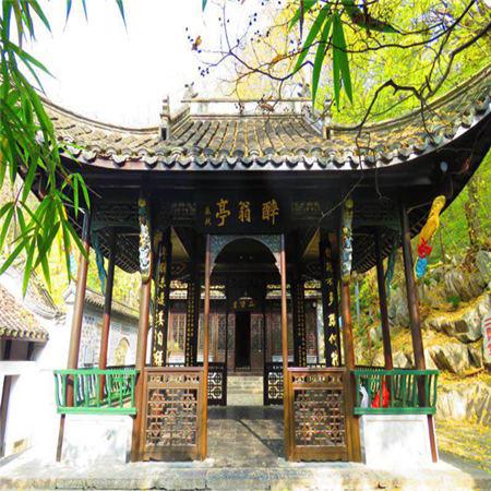 """滁州市琅琊山风景区荣获""""2018年度安徽网友喜爱的旅游目的地""""称号"""
