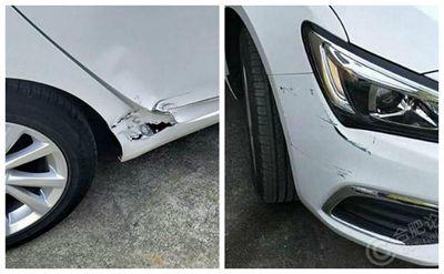 新车刚提一周,被老婆开成了这样,心痛!