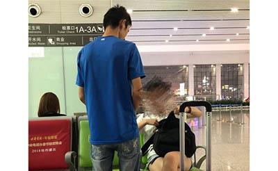 【曝光】合肥南站候车室有人乞讨,咋进来的?