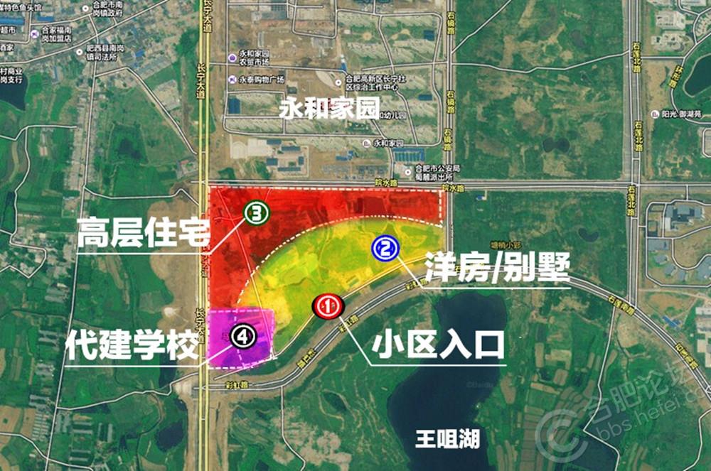 【绝密】哥拿到了蓝光雍锦半岛被规划局否决的最终图