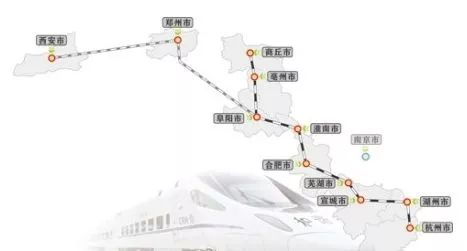 合肥到上海2小时,到重庆5小时!北沿江高铁明年开