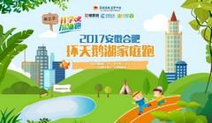 2017安徽合肥环天鹅湖加油跑