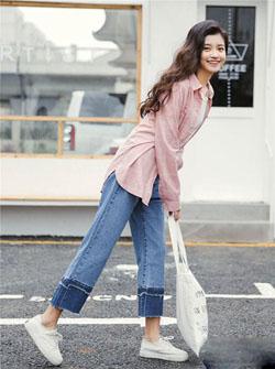 百搭阔腿裤图片新款式 显瘦遮腿又时髦!