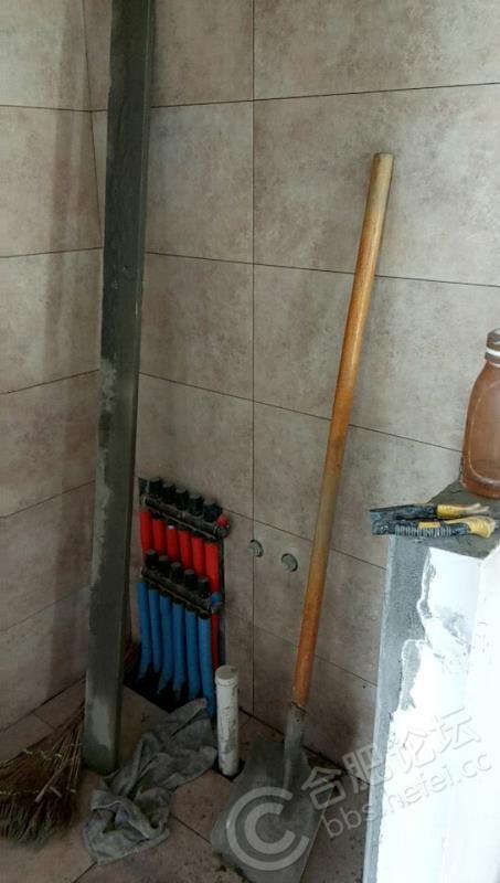 卫生间干区贴砖