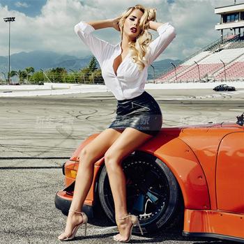绝美大片 气质美女车模