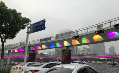 惊呆,合肥滨湖五彩立交桥,谁是创意总监
