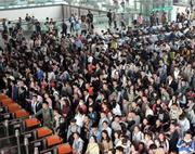 合肥48万旅客选择乘火车出行