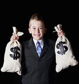 孩子太早接触钱,可能有意想不到的负面影响