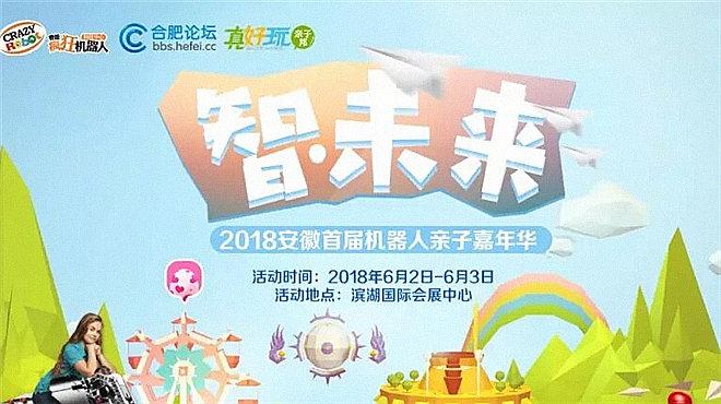 2018安徽省首届机器人亲子嘉年华早鸟票全省开启报名!